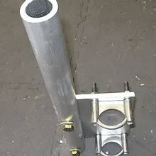 HEAVY DUTY FOLDOVER MOUNT FOR ANY MAST MOUNTED VERTICAL